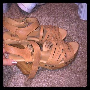 Kork-Ease Shoes - kork-ease san Carlos ,brown leather heels